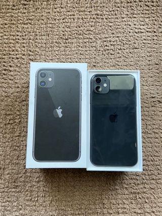 iPhone 11 Black 128gb BNIB NEW Not Active