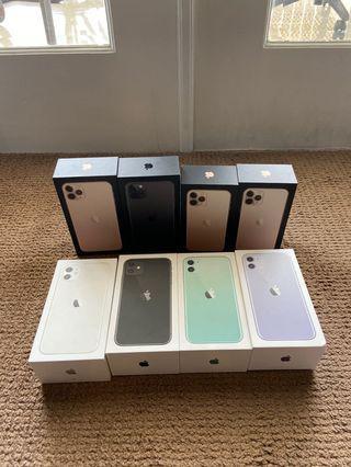 iPhone 11 Pro Max BNIB New 128gb 256gb Non Not Active