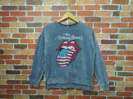 Rolling stone band sweatshirt
