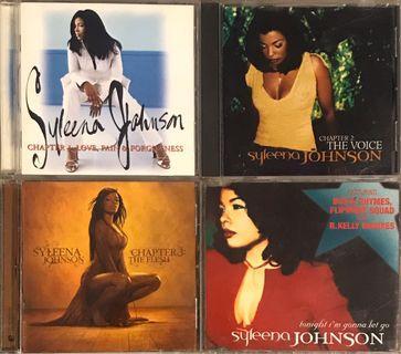 4 x Syleena Johnson CDs 席琳娜強森