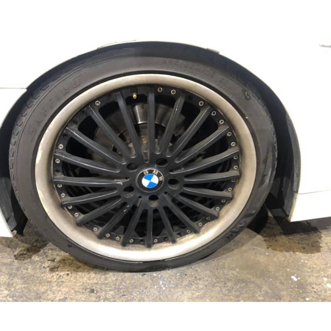 2004年 日規 E60 BMW 525 實跑16萬 車漂亮 無待修