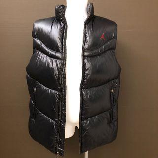 全新無吊牌 Jordan Leather Vest Large 羽絨背心 保暖外套 保暖背心 秋冬款運動背心