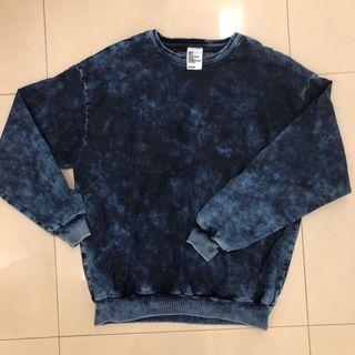 8成新現貨 H&M Denim over sized Shirt Large 丹寧上衣