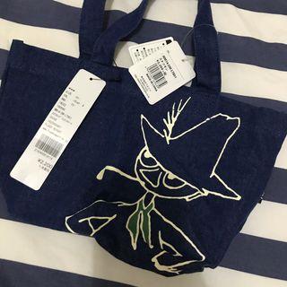 日本購入 小不點帆布包 便當袋 手提袋