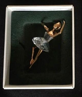 Authentic Limited Edition SWAROVSKI Vintage Crystal Memories Giselle Ballerina Pin