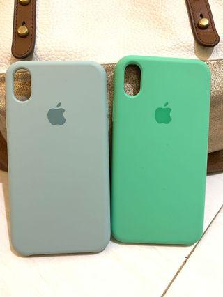 Premium Silicone Case Iphone XR bundling