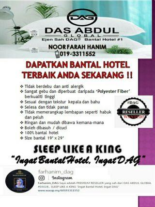 BANTAL HOTEL / PILLOW DAS ABDUL