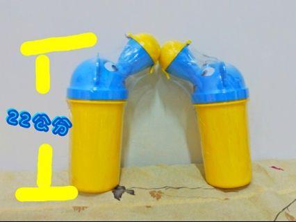 Y. T現貨實拍 小男童 女童 便攜式 小便器 尿壺