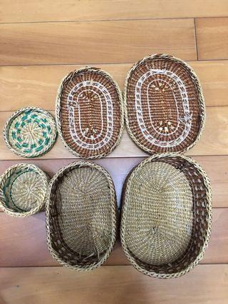 草編收納盒