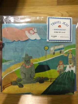 Travel Jeju handkerchief