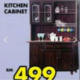 [Fixed Price/Serious buyers only]Kitchen Cabinet H182xW118cm