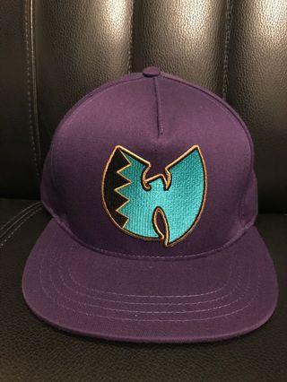 Wu Tang Clan 後扣帽 / 紫色Logo稀有配色