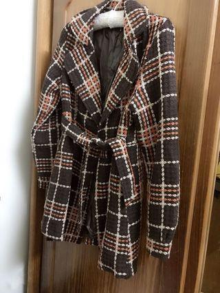 時尚保暖大衣