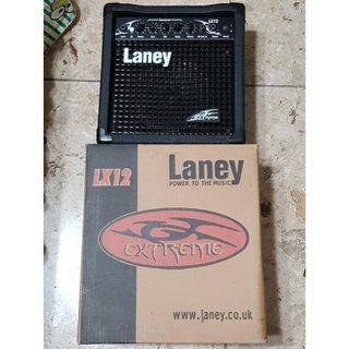 【二手】Laney LX12 Camouflage 10瓦 6吋 電吉他 木吉他 專用音箱