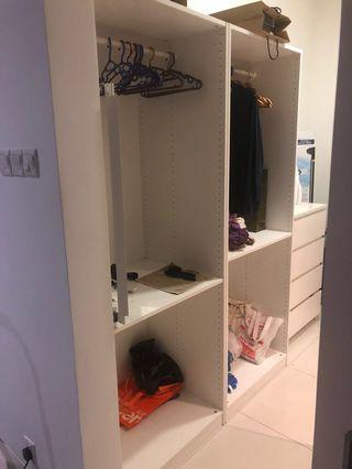Ikea wardrobe frame (2 units)