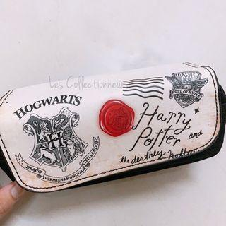 Harry Potter Case Hogwarts School PU Leather Pouch Pencil Case