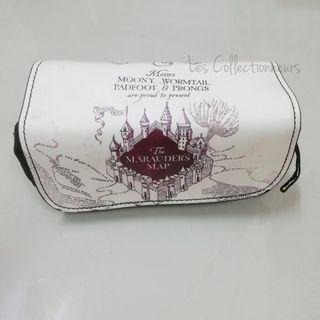 Harry Potter Case The Marauders Map Hogwarts PU Leather Pouch Pencil Case