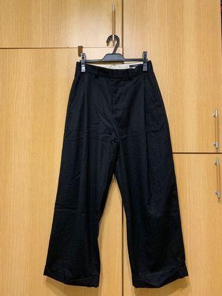 JOURNAL STANDARD羊毛黑寬褲