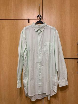 蘋果綠襯衫