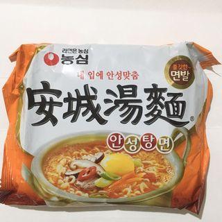 韓國#安城湯麵