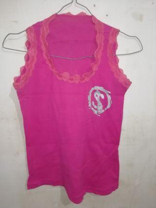 Pink tanktop