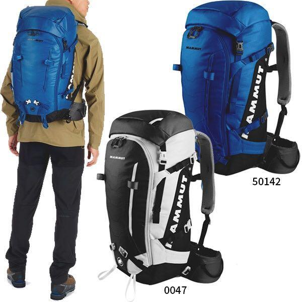 現貨3.6折 MAMMUT Trion Spine 35 Surf-Black 35L 長毛象 登山包 35升 二手 8成新