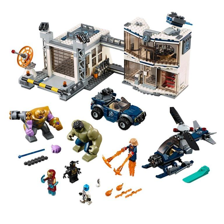 76131 LEGO AVENGERS COMPOUND BATTLE