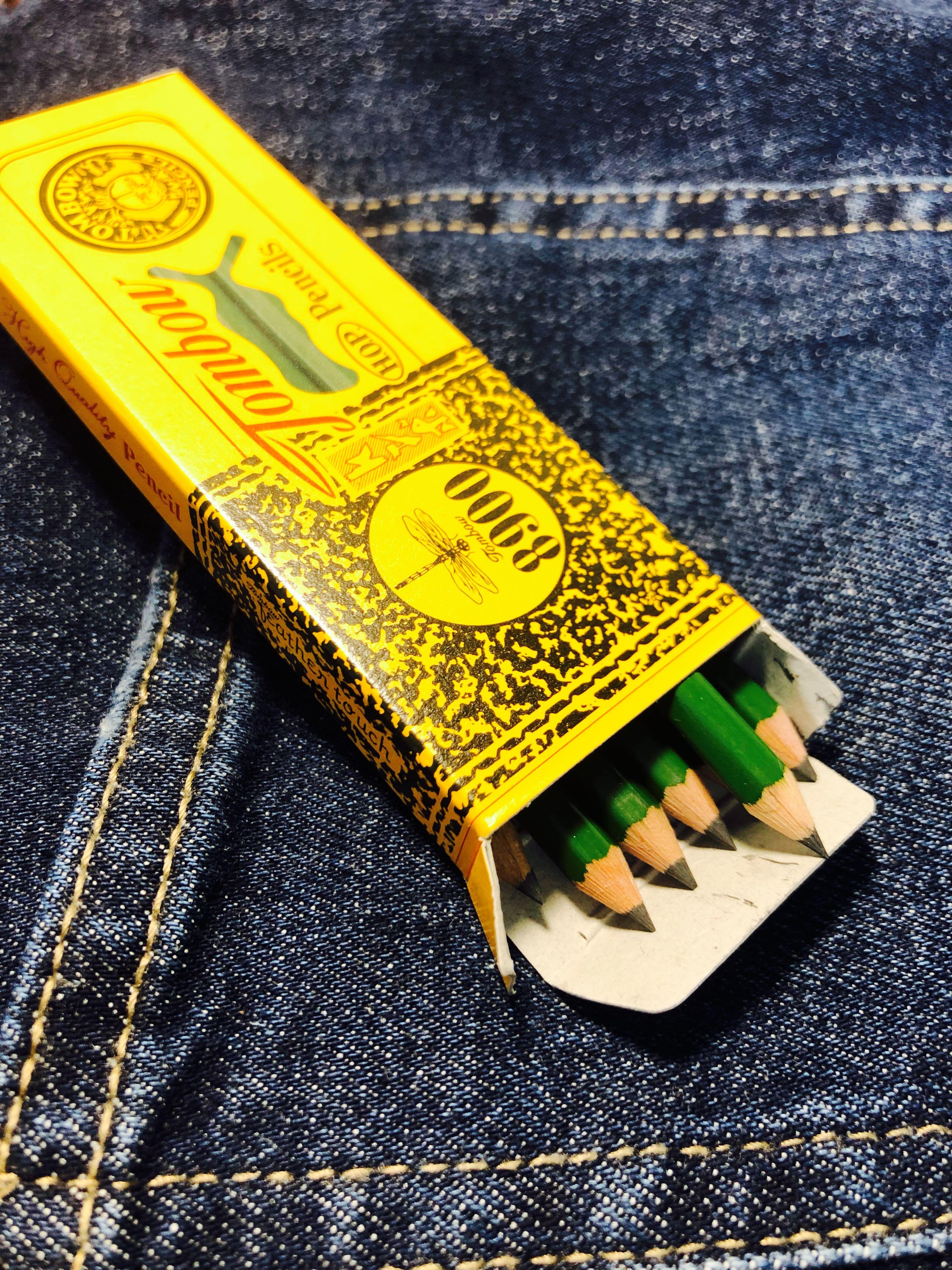 蜻蜓牌復刻迷你鉛筆