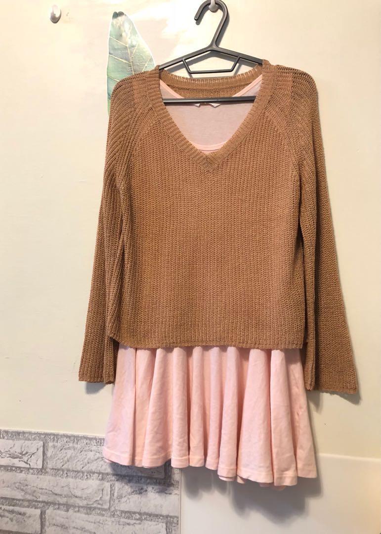 買一送一,韓國購回針織上衣