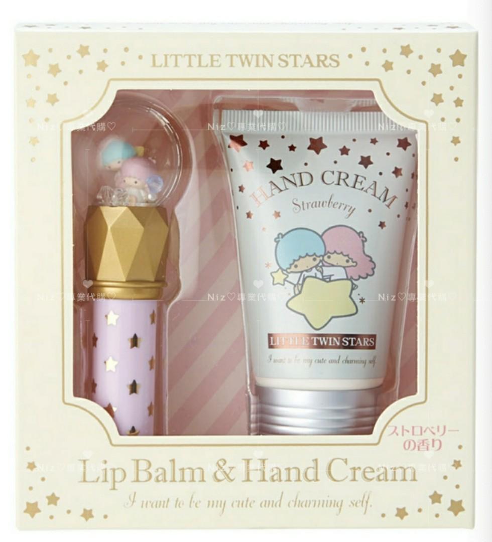 ♡日本代購♡‼️新品三麗鷗護唇膏+護手霜禮盒組