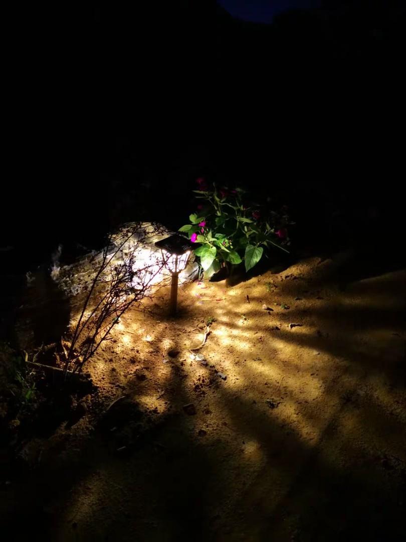 🌇家用超亮太陽能草坪燈 防水花園插地室外照明