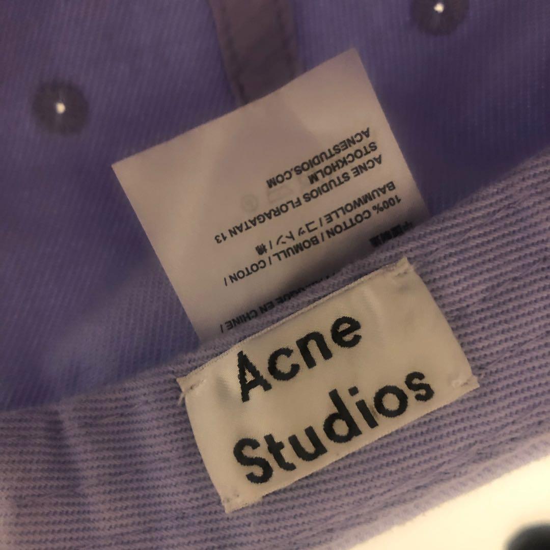Acne Studios 淺紫色Cap