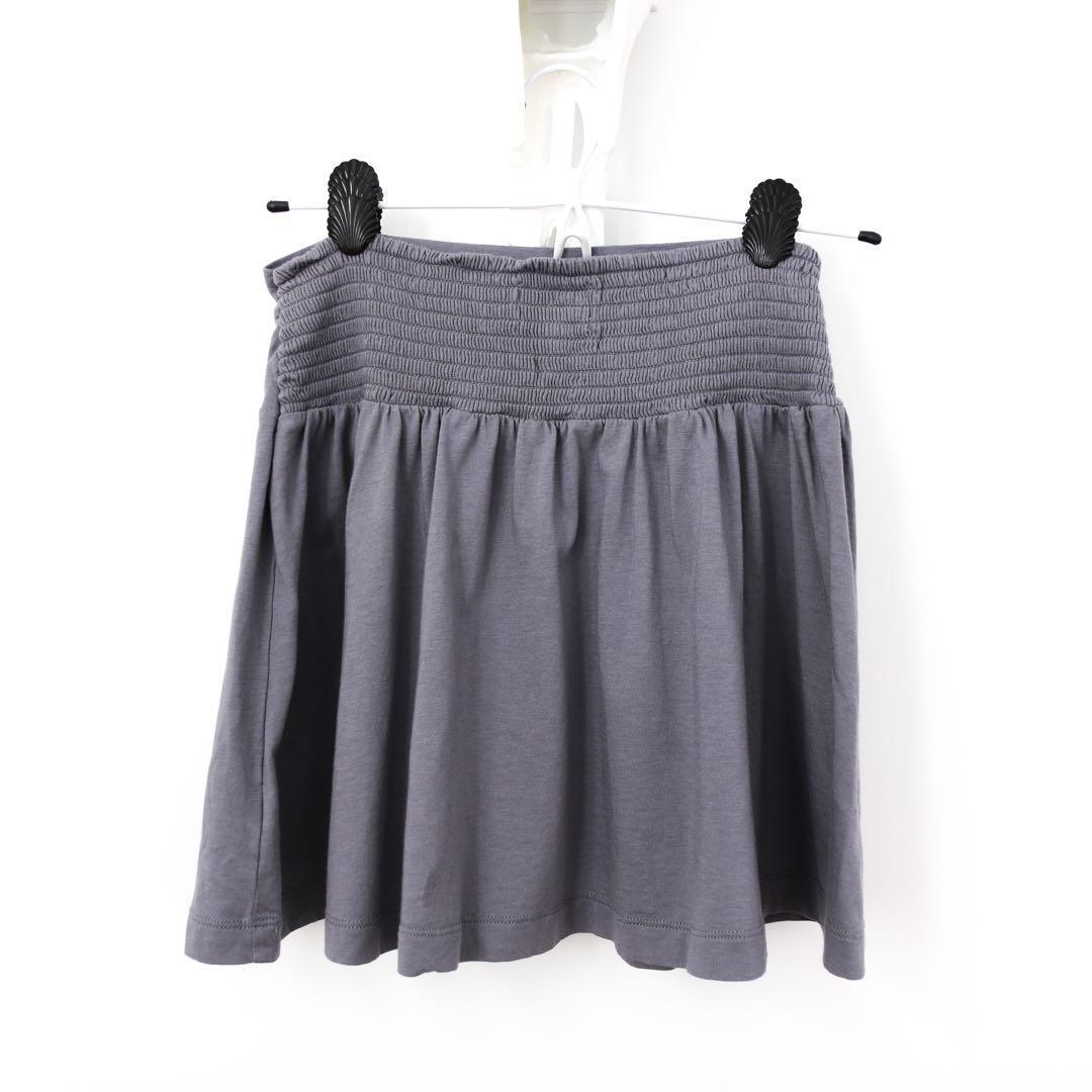 American Eagle Grey Mini Skirt