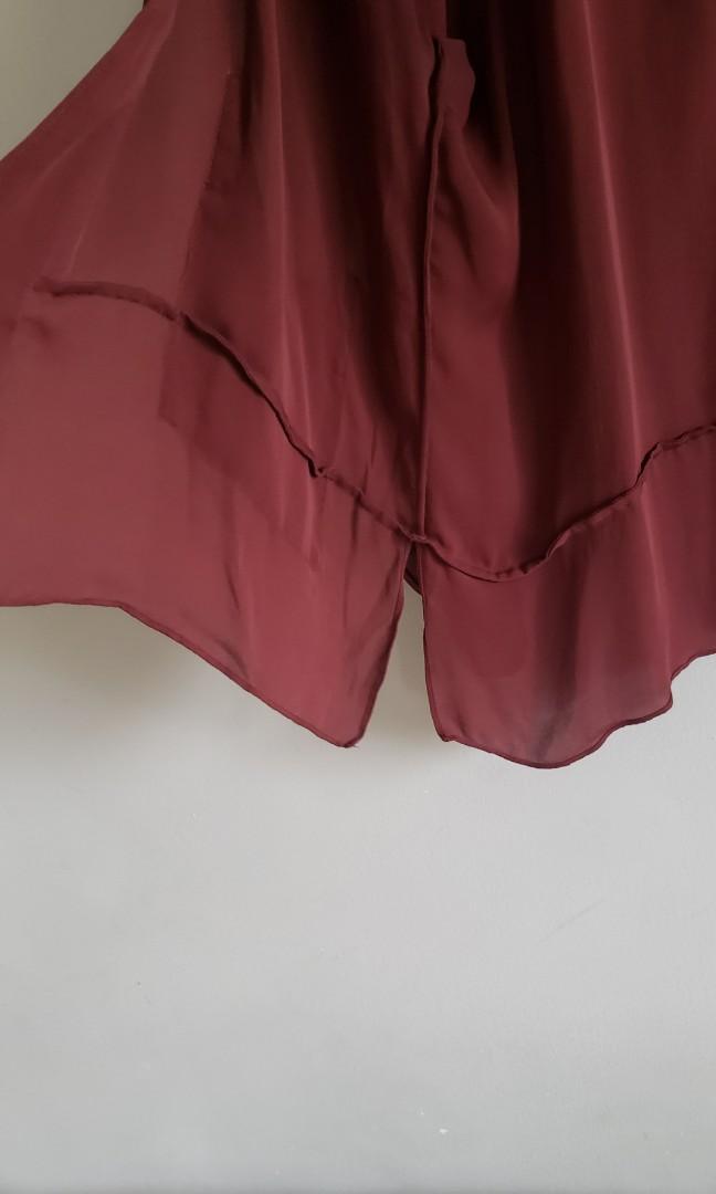 Aritzia Silk Cardigan
