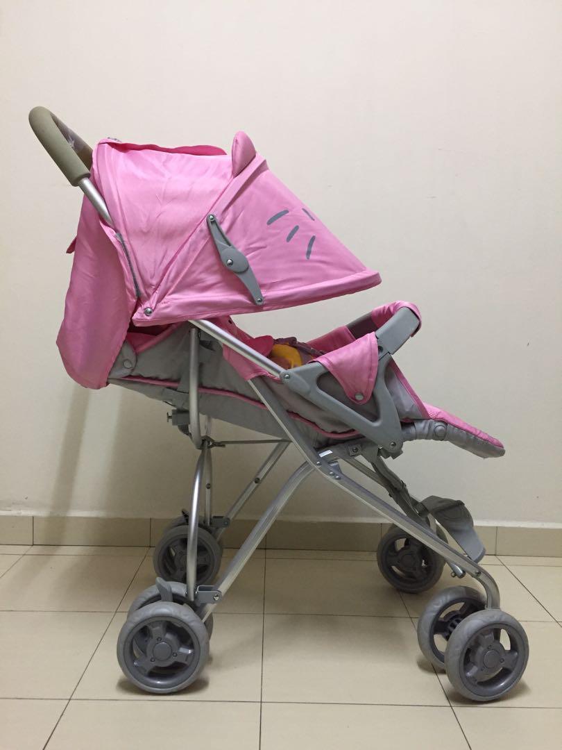 baby stroller hello kitty