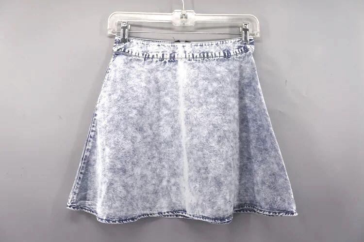 Blue jeans denim skirt 藍色牛仔裙淺藍色