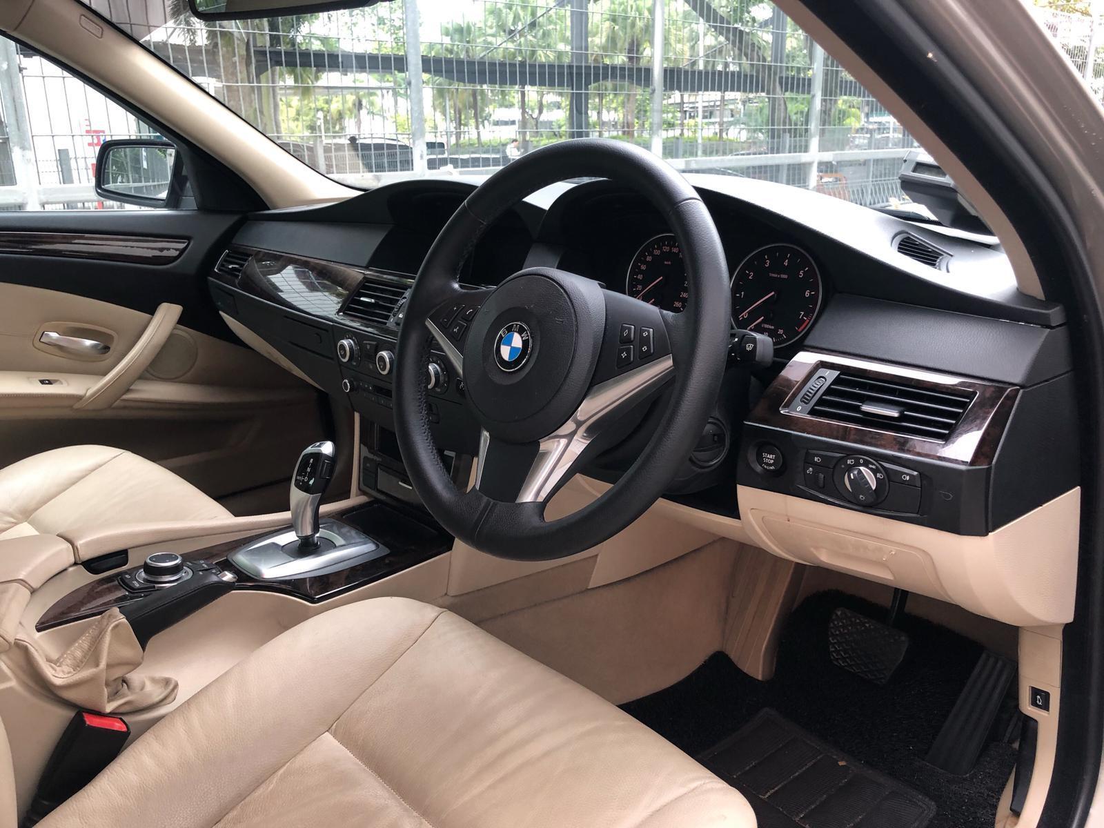 BMW 525i XL conti car rent personal use grab gojek long term.cheap rental(min 2mth)