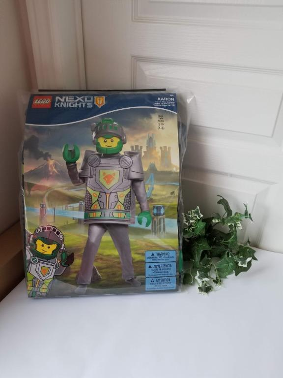 BNIB Lego Nexo Knights Minifigure Aaron Child Kid Costume Full Set w Mask Small S 4-6