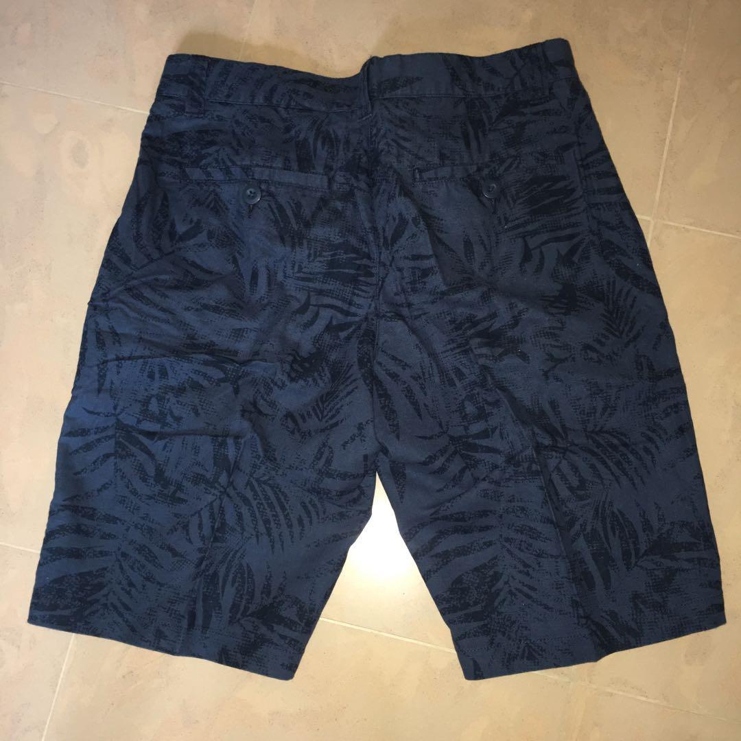 Bossini 藍色 短褲 Blue Shorts