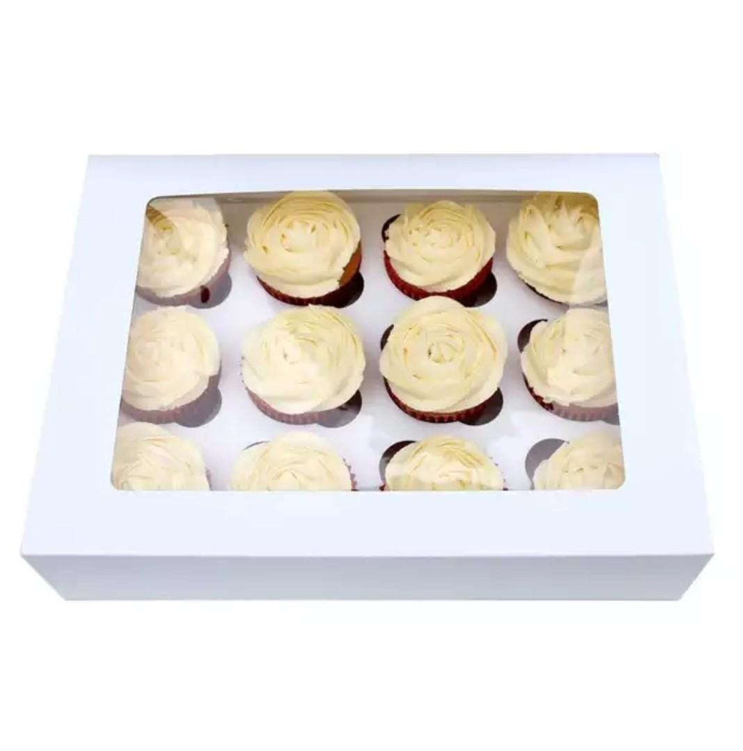 Brand new 12 cupcake boxes  1 box = $1.80 5 pack = $8.50 10 pack = $16 25 pack = $33