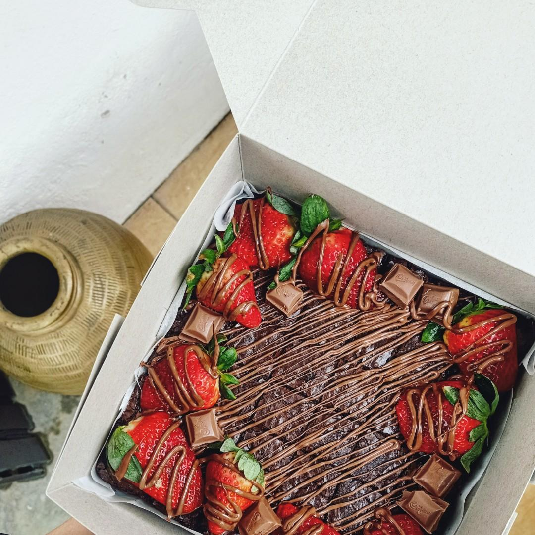 Brownies Strawberry RM50