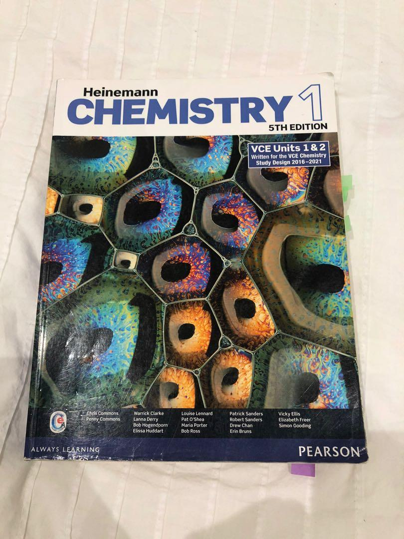 VCE Chemistry Units 1 & 2 Heinemann (5th edition) textbook