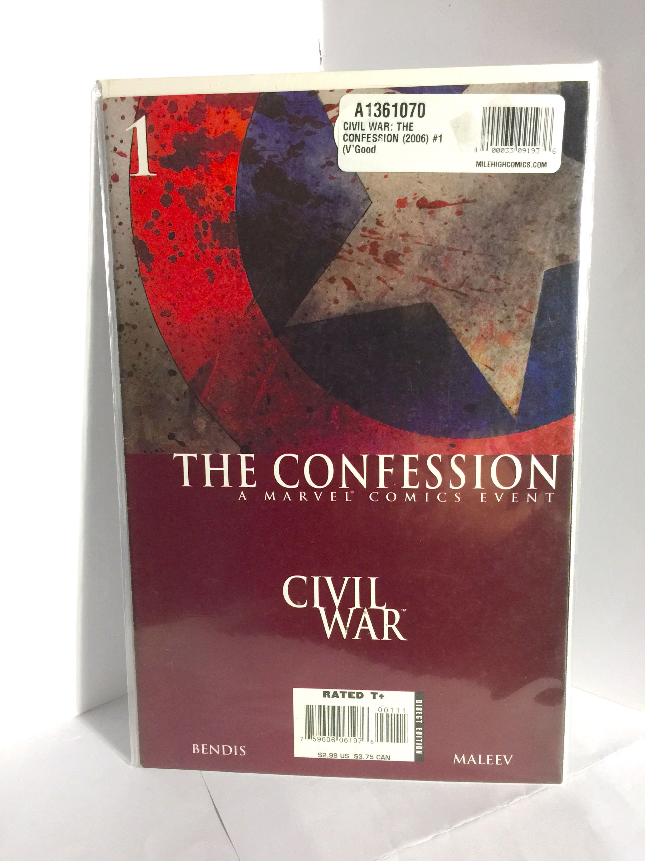 Civil War : The Confession - A Marvel Comics Event (Brand New)