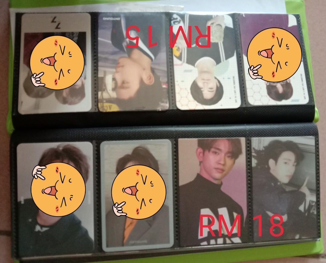 [CLEARANCE] GOT7 OFFICIAL PHOTOCARDS