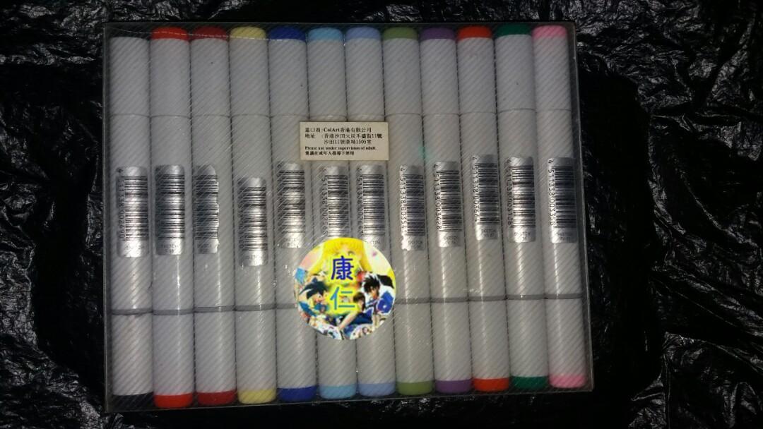 COPIC MARKER 12色  畫畫 酒精 麥克筆 第二代 繪畫 顏色筆