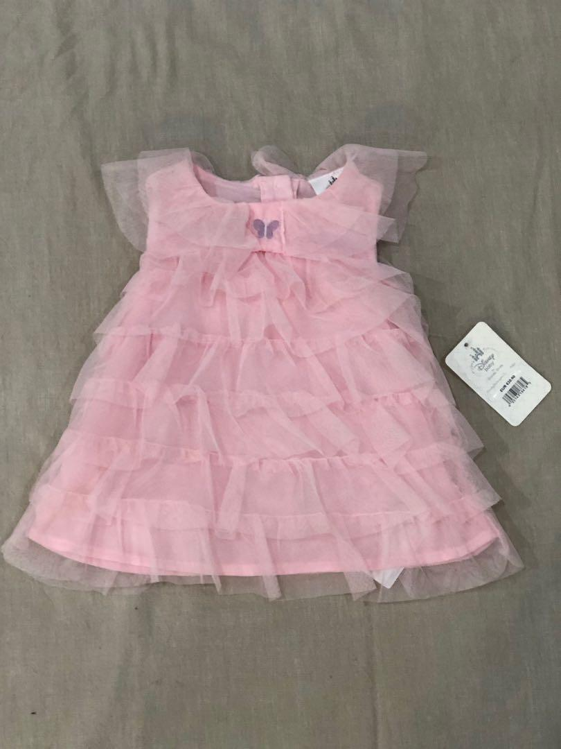 Disney| 6-9 months | pink ruffle dress