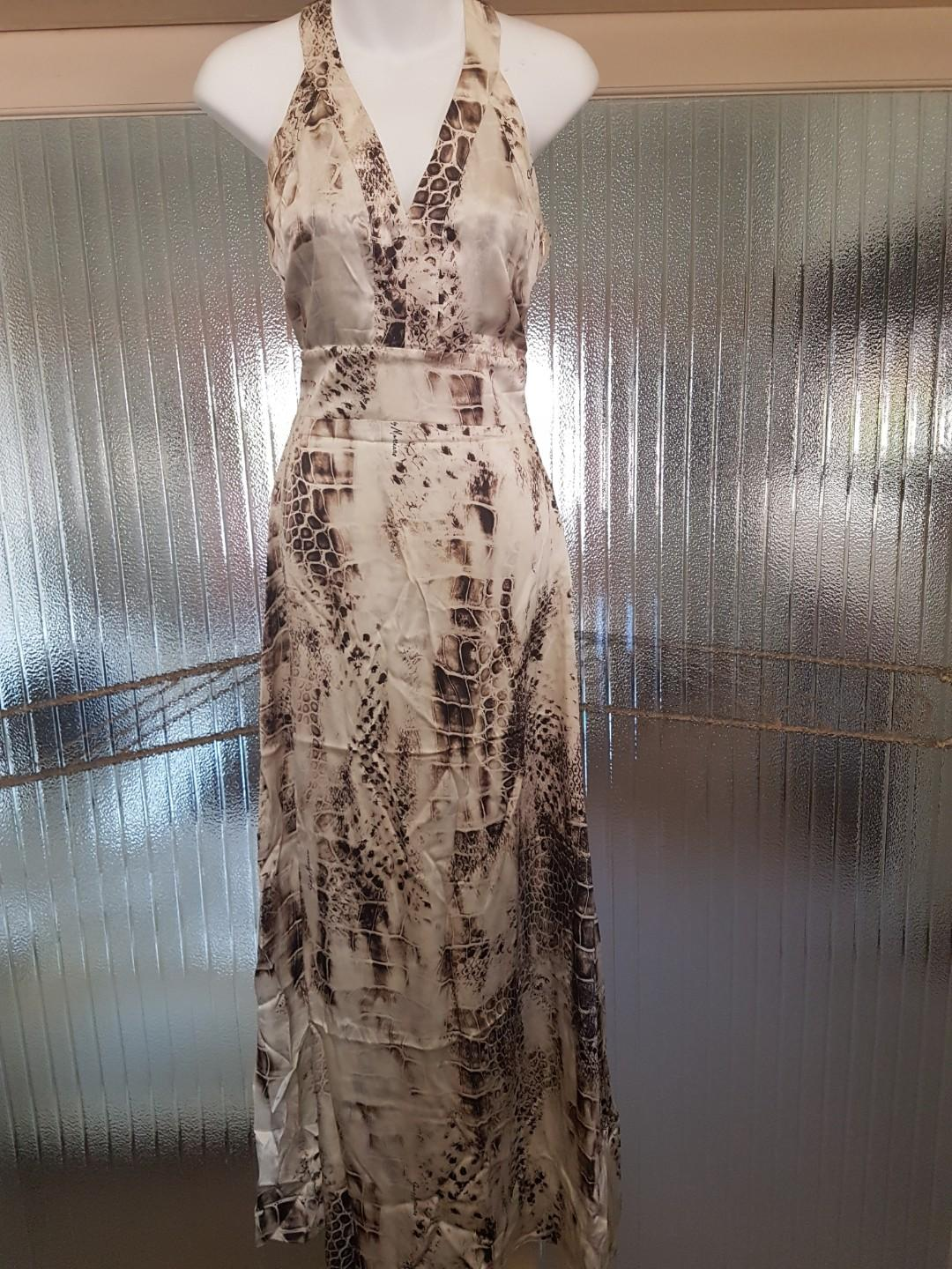 Evening Maxi Dress - Guess by Marciano - Animal Print