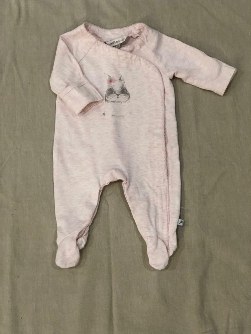 Fox & Finch Baby | size 0000 newborn | sleepsuit