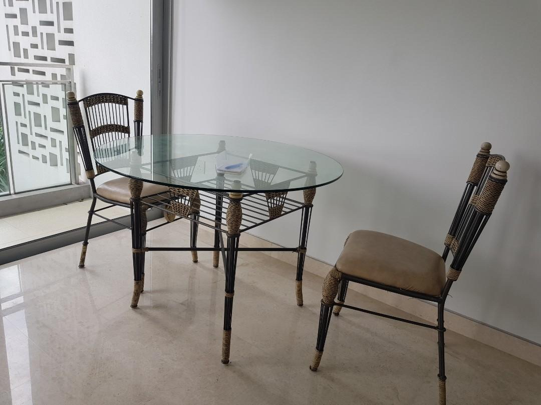 Gl Dining Table Small Apartment
