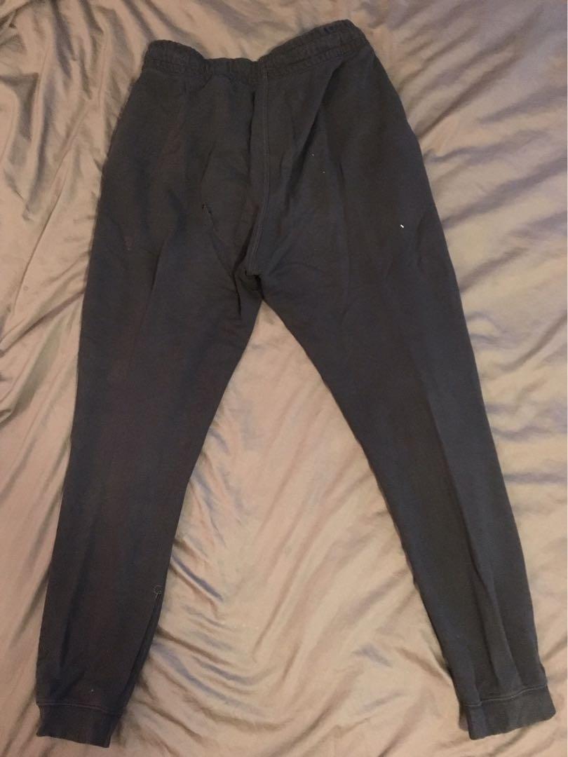 H&M Basic pants 黑色棉長褲,size M